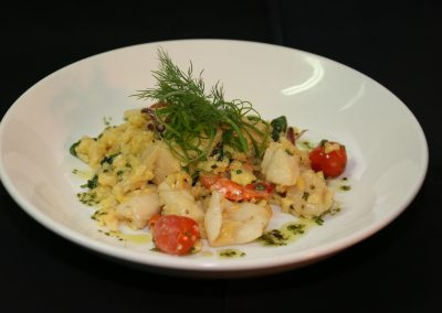 Galleons Restaurant Seafood Rissotto