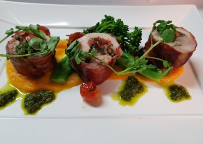 Prosciutto Wrapped Chicken Ballantine