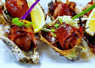 Bacon Wrapped Oysters