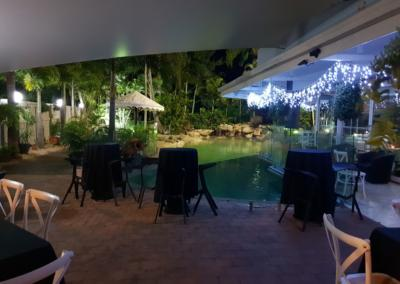 Pool Area Night